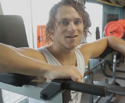 Marc Kroon winter workout