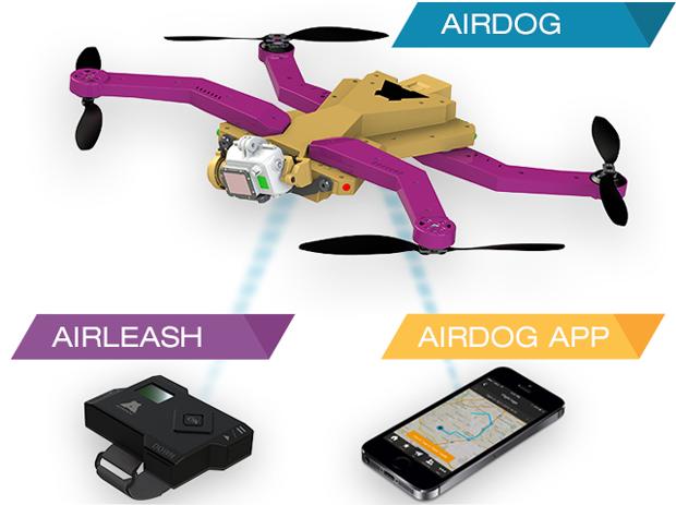 Airdog: GoPro-drone met volgfunctie