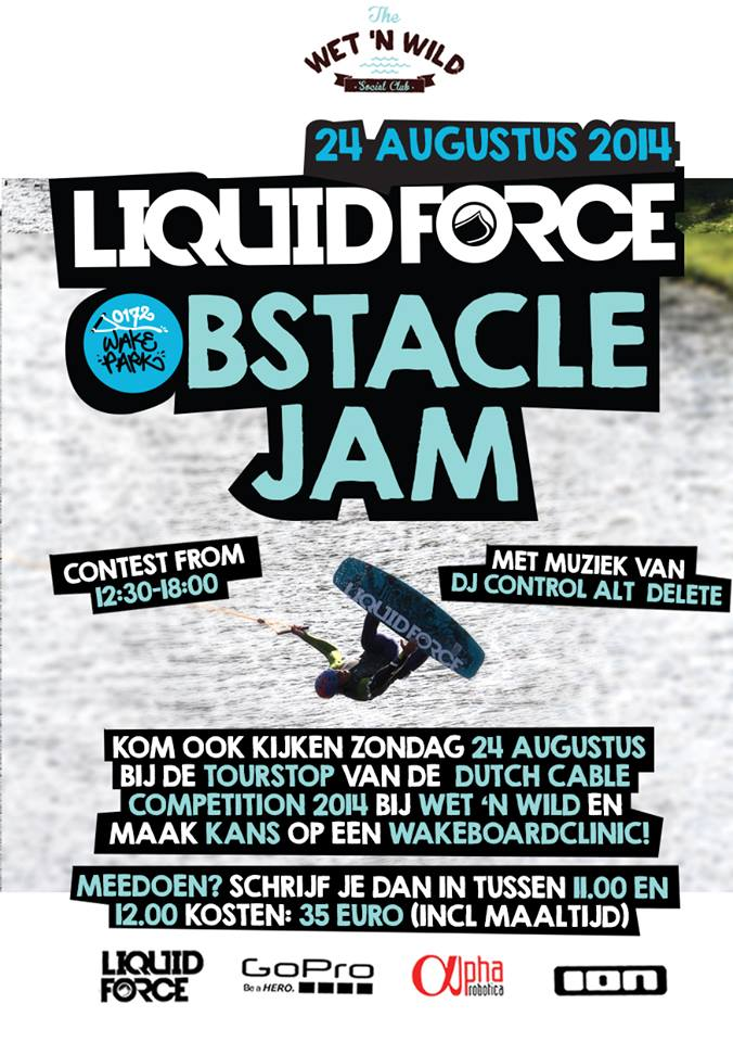 Liquid Force Obstacle Jam 24 augustus