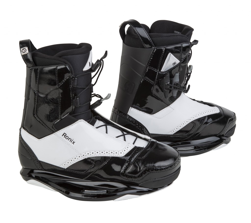 2015 Ronix Frank Black Tie Boots