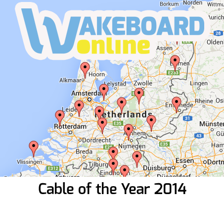 Laatste tussenstand Cable of the Year verkiezing