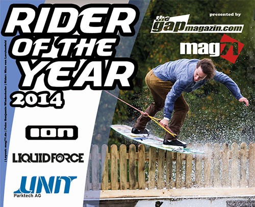 Overzicht Rider of the Year awards 2014