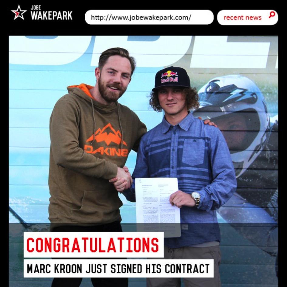 Marc Kroon tekent bij Jobe