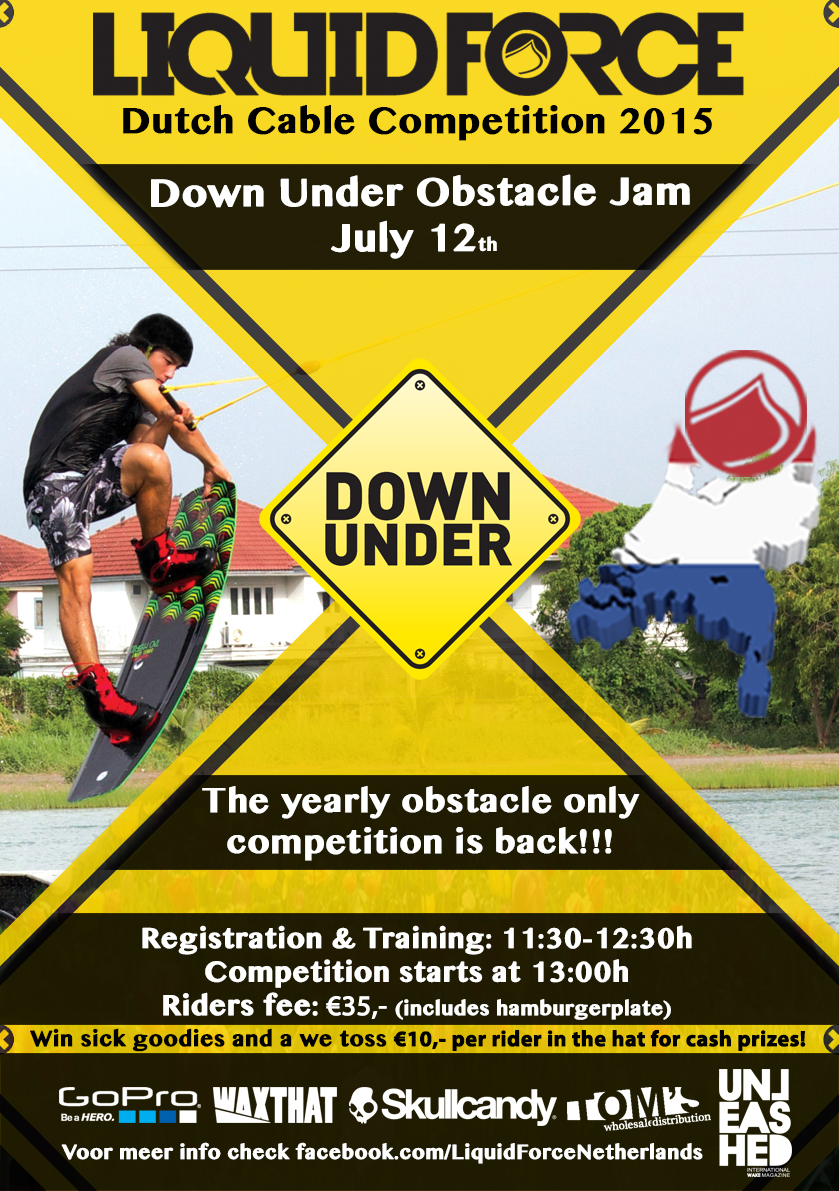 Down Under Obstacle Jam 2015