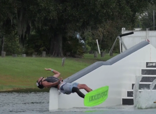 Wakeboard Crash Compilation 2015