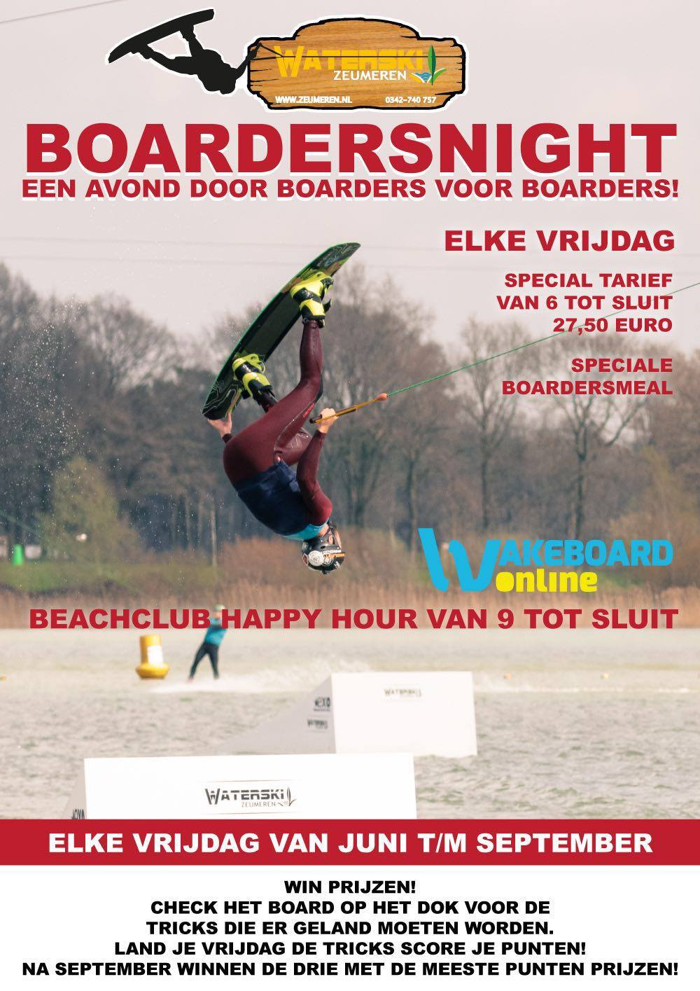 Boardersnight Zeumeren, powered by WakeboardOnline
