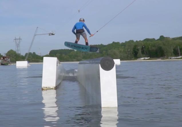 De wakeboard videodump 22 december 2017