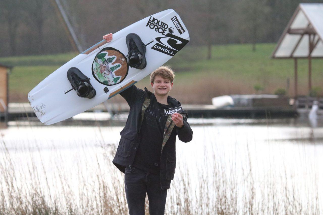 WakeboardOnline sponsort Jasper van Suchtelen