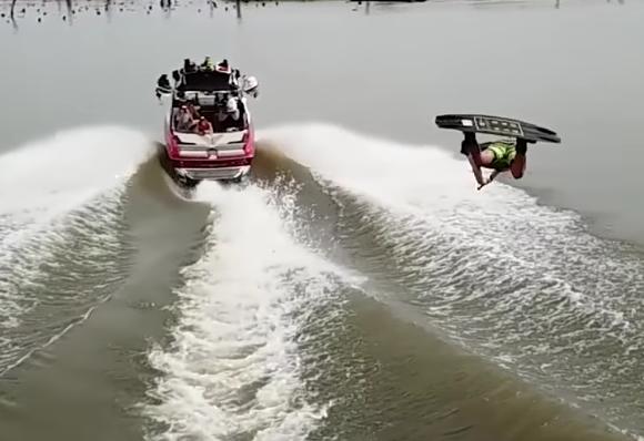 De wakeboard videodump 2 februari 2018