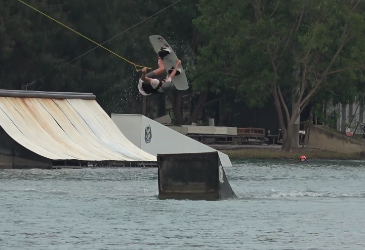 De wakeboard video dump 12 april 2019
