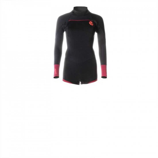 2017 Brunotti Defence Longarm Shorty 3/2 D/L Women Wetsuit Red