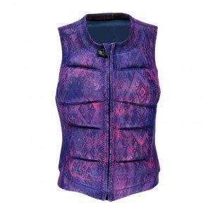 2018 Brunotti Faded Wakevest FZ Women Vest Purple