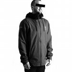 2021 Follow Layer 3.1 Outer Spray Twelker - Charcoal