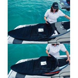 2021 Follow Wake Surf Bag - Black - 5.4FT