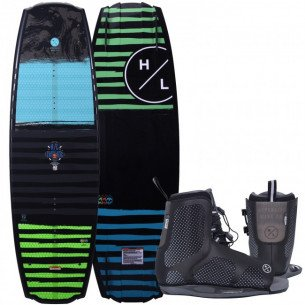 2021 Hyperlite Franchise LTD Wakeboard with Remix Boots