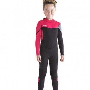 2019 Jobe Boston 3/2mm Wetsuit Kids Pink