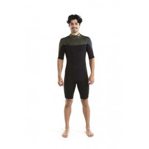 2019 Jobe Perth Shorty 3/2mm Wetsuit Men Army Green