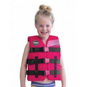 2020 Jobe Nylon Life Vest Kids Hot Pink