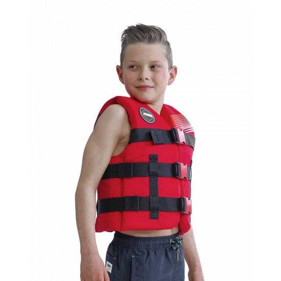 2020 Jobe Nylon Life Vest Kids Red