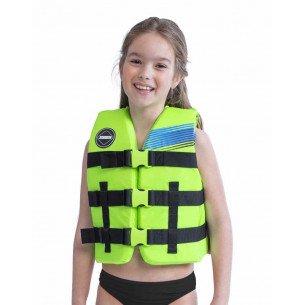 2020 Jobe Nylon Vest Kids Lime Green