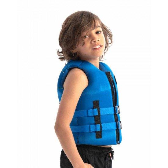 2021 Jobe Neoprene Life Vest Kids Blue