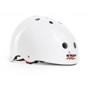 Liquid Force Wipe Out Kids Helmet White