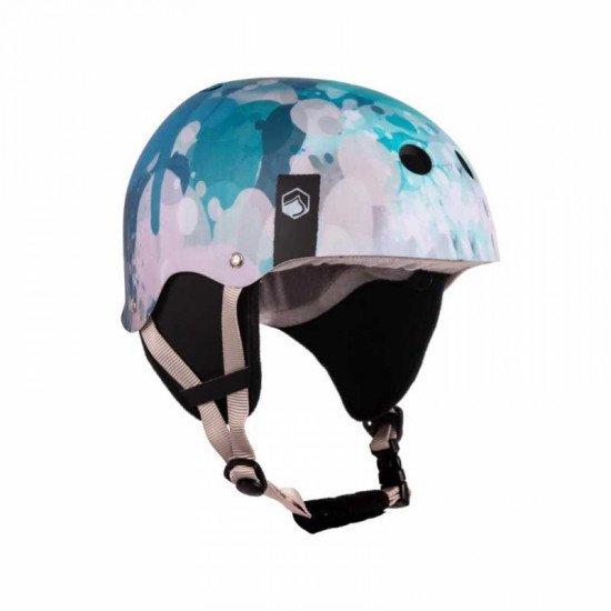 2022 Liquid Force Flash Helmet - Blue Blots
