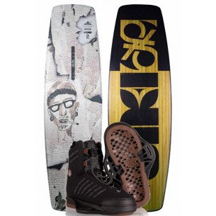 2020 DUP SDR Wakeboard with Liquid Force Tao Boots