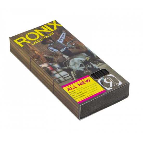 2018 Ronix Lace Lock Kit  (set of 4 laces and lace locks)