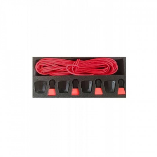 2020 Ronix AutoLock Kit - Red (set of 4 Laces and AutoLocks)