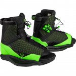 2021 Ronix District Black / Green Boot
