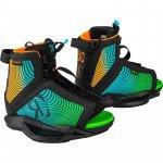 2021 Ronix Vision Black / Orange / Green Kid's Boot