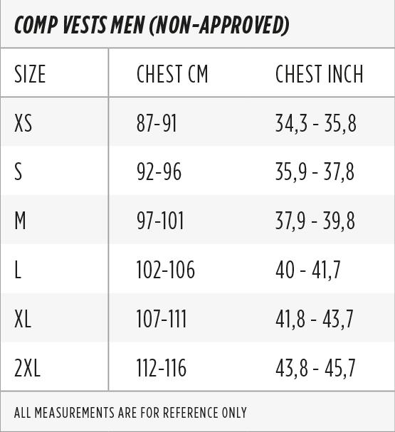 Wakeboard Size Charts