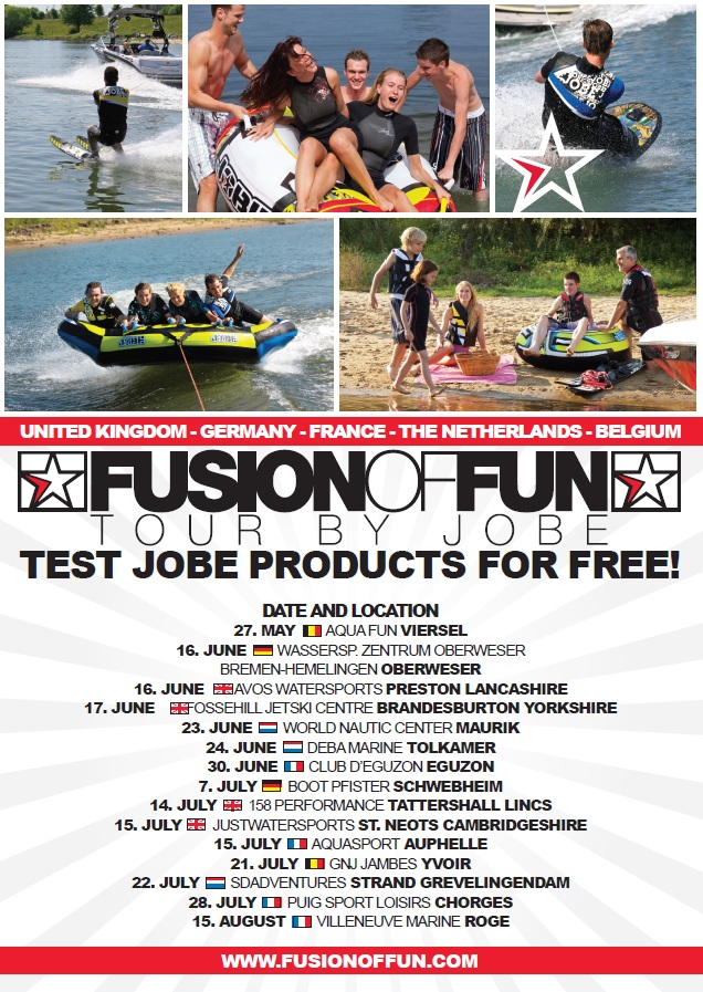 Fusion of fun tour 2012
