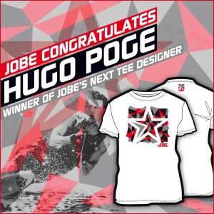 Hugo Poge's winnende ontwerp voor de Jobe's Next Tee Designer Contest