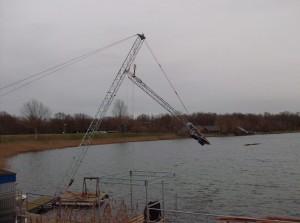 Opbouw van de mast